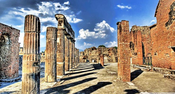 Noleggio pullman Pompei